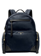❤️ Michael Kors Prescott Nylon Navy/Gold Backpack