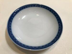 "Williams-Sonoma Blue Rim Small Bowl Dish, 5 3/4"" Diameter x 1 1/8"" High"