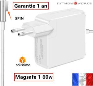 """Chargeur Macbook Pro 13"""" pc apple Magsafe 1 60W adaptateur ordinateur A1278 1344"""