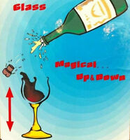 Floating Airborne Wine And Glass - Electric Version /Magic Tricks Stage magic