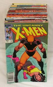 Lot Of 60+ Uncanny X-Men Comics #177-300 Marvel Vol 1 1987-93 Chris Claremont