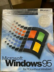 """Microsoft Windows 95 for PCs without Windows 3.5"""" Disk #58431 New"""