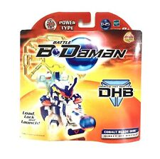 Battle B Daman Hasbro Cobalt Blade DHB Direct Hit Battle NIB D-25 Zero System