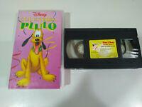 Con Ustedes Pluto Walt Disney - VHS Cinta Español - 2T