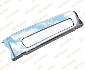 QSC Chrome Steel Front Center Bumper for Freightliner M2 Business 106 112 03-12