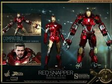 Hottoys 1/6 PPS002 Power Pose Limited Articulation Iron Man 3 Mk 35 Red Snapper