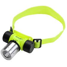 Cree LED Stirnlampe Wasserdicht Licht Lampe zum Tauchen Diving Lamp