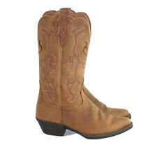 Justin McKayla Tan Boots L2561 Western Boot Cowboy Boot Women's Size 6 B