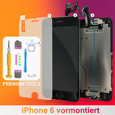 Apple iPhone 6 display completo premontado touch screen frente de cristal negro