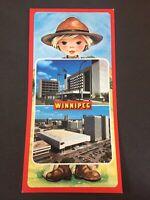 Vintage Postcard Winnipeg Manitoba Canada Long  Card X6