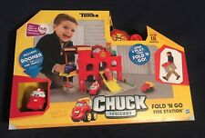 Hasbro Tonka Chuck & Friends Fold 'n Go Fire Station-  NIB