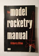 SIGNED AND PERSONALIZED 1970 THE MODEL ROCKETRY MANUAL BY G. HARRY STINE