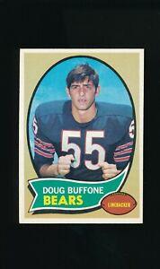 1970 Topps #163 Doug Buffone RC * Linebacker * Chicago Bears *  NM/NM-MT *