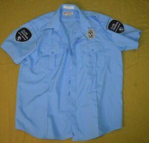 Allied Universal Security Services Blue Uniform Shirt National 18-18 1/2 XXL
