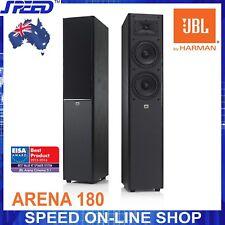JBL Arena 180 Floorstanding Speakers Loudspeakers - Black - Pair - (Brand New)