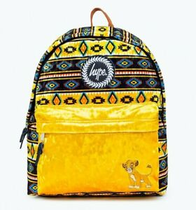 Official Disney Simba The Lion King Pattern Backpack from Hype