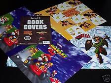 NINTENDO DONKEY KONG - MARIO KART - ZELDA BOOK COVERS