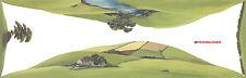 "PECO SK-14 Large Conversion Landscape Scenic Background 228mm x 737mm ( 9""x 29"")"