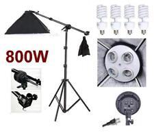 Photo Studio Video Boom Arm Stand Softbox light Kit