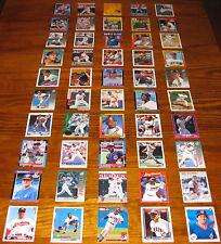 Cleveland Indians Wholesale Baseball Card Lot 50 Cards MLB Team Set Thome Manny