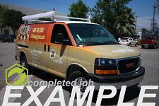 Full Custom Economy Cast Vinyl Wrap - Standard Vans - Trade Price for Reseller's