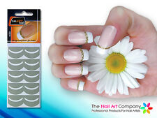 SmART-Nails - Glitter French Nail Art Stencils N001 Professional Nail Product