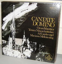 PROPRIUS LP 07762: CANTATE DOMINO - Various Artists / Pieces - SWEDEN 2009 NEW