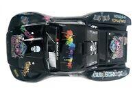 Custom Body Graffiti Black for Traxxas 1/10 Slash 4x4 VXL Slayer Shell Cover