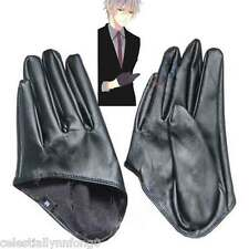 Anime Inu x Boku SS Soushi Miketsukami Cosplay Costume Leather Half Gloves Gift