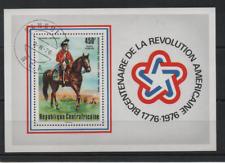 B650 Centraal Afrika Blok 10 gestempeld Paarden