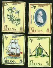 CAPTAIN COOK VOYAGES OBSERVATORY SHIP ISLAND OF ST. HELENA MINT STAMPS  NICE