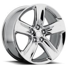 "4) 20"" x 10"" Jeep Grand Cherokee 2014 SRT Style Chrome Fits 11 - 18 Wheels Rims"