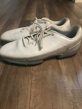 Nike Air Zoom Attack Golf Shoes Cleats Spikes White/Grey/Blue Size 13 853739-001