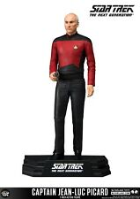 """Star Trek Capitán Jean-Luc Picard 7"""" figura de acción McFarlane TNG en la acción!"""