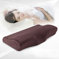 Slow Rebound Memory Pillow Soft Cotton Pillow Cervical Relax Slow Rebound Pillow