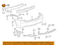 TOYOTA OEM 10-15 Prius REAR BUMPER-Reinforcement Bracket Left 5201647020