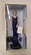 Diana, Princess Of Wales Blue Dress Portrait Doll