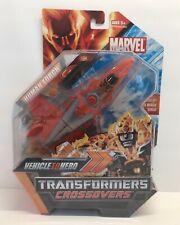 Hasbro Marvel Legends NIB Transformers Crossovers Human Torch Action Figure 2008