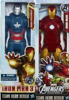 Official Marvel Avengers Titan Hero Iron Man Patriot Action Figure Toy Gift Kids