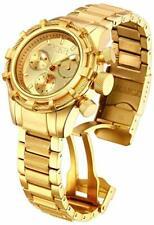 Invicta Womens 42mm Bolt Chrono Gold-Tone Stainless Steel Bracelet Watch Watch