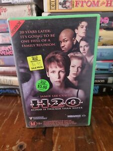 Halloween H20 - 1998 - VHS Tape - Ex-Rental - Jamie Lee Curtis - Horror