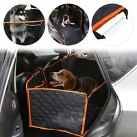 Waterproof Car Dog Rear Seat Cover Pet Protector Travel Hammock Mat hot