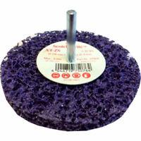 roues de décapage purple sur tige 3M - 100x13x6mm référence 51924