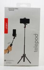 Joby GripTight PRO TelePod Vlogging Phone Selfie Stick Tripod Bluetooth Trigger