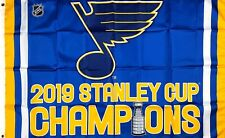 St. Louis Blues NHL Stanley Cup Championship Hockey Flag 3x5 ft Banner Man-Cave