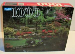 New Sealed GUILD 1000 Pc JAPANESE GARDEN PORTLAND OR Jigsaw Puzzle #4710-12