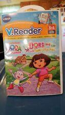 Dora the  Explorer and the Three Little Pigs V.Reader Vtech - 3-5 yrs