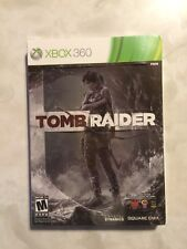 Tomb Raider (Microsoft Xbox 360, 2013) with steelbook New/Factory Sealed