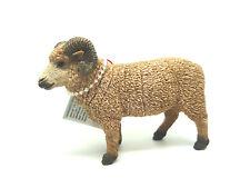 O16) Safari S161429 Schafsbock Widder  Bauernhof - Schaf Haustiere Tierfiguren