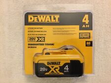 New Dewalt DCB204 20V Max XR 4.0Ah Lithium Ion Battery Li-ion NIB